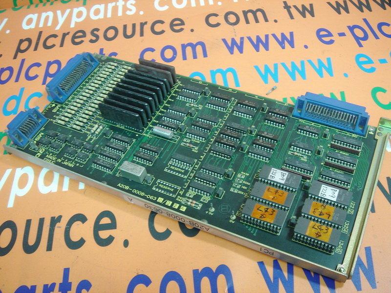 FANUC I//O Board Typ A20B-0008-0540//01A